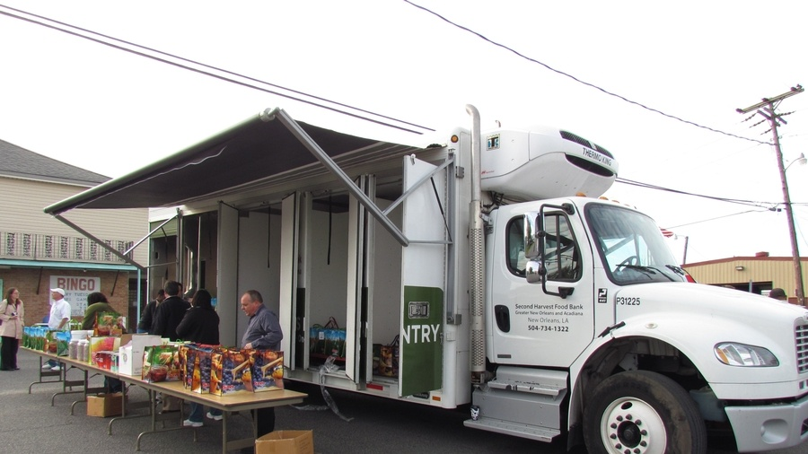 second harvest truck