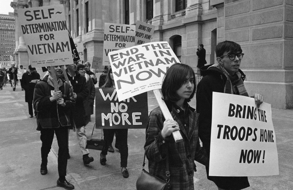 Vietnam War Protest 1966 The Nation