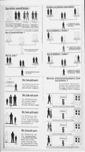 Nuremberg laws chart