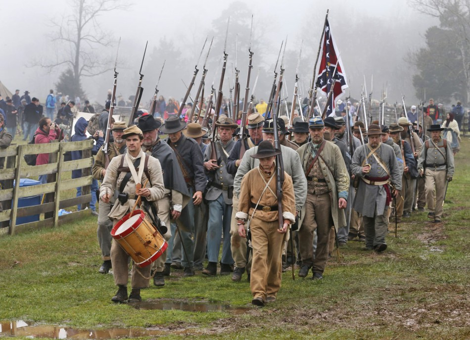 AP APTOPIX Civil War 150th Appomattox