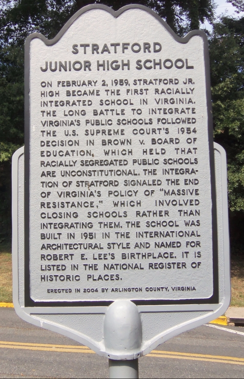 stratford_junior_high_school_historical_marker