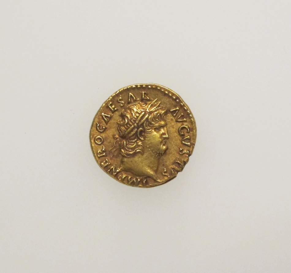 Gold Aureus of Nero, Courtesy of The Met Museum.jpg