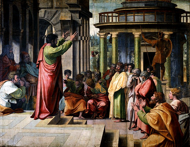 779px-V&A_-_Raphael,_St_Paul_Preaching_in_Athens_(1515).jpg